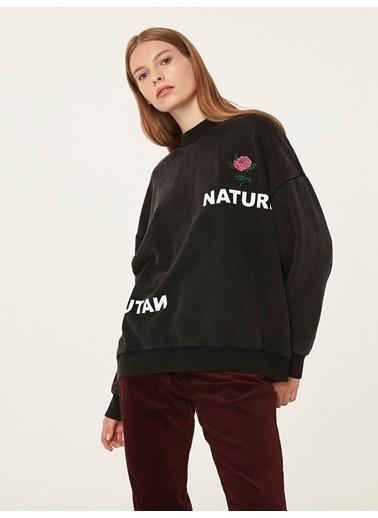 Twist Sweatshirt Antrasit